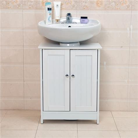 Undersink Bathroom Cabinet Cupboard Vanity Unit Under Sink Bathroom Storage Ebay