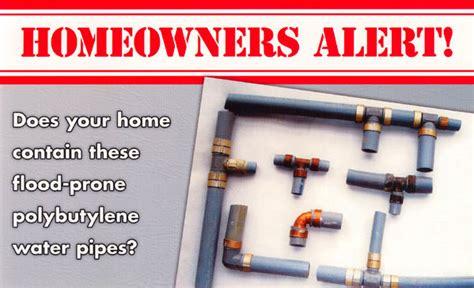 Poly Plumbing Problems by Polybutylene Awareness Sons Plumbing