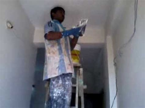 apply asian paints acrylic wall putty   wall