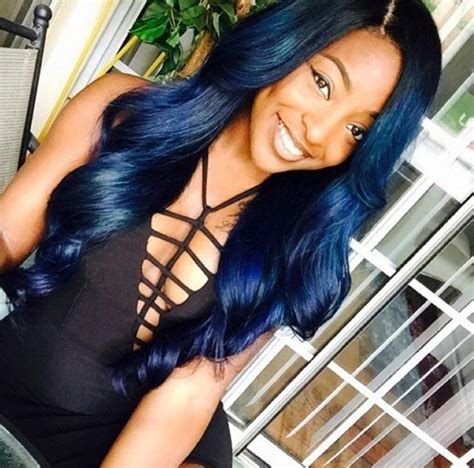 navy hair color 17 best images about navy blue hair color on