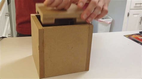 How To Make A Puzzle Box Out Of Paper - centripetal puzzle box how to make