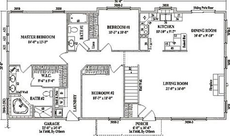 open concept ranch floor plans my dream house pinebrook by wardcraft homes ranch
