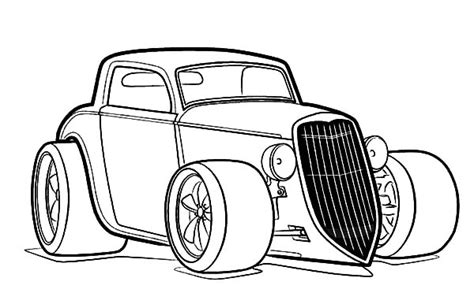 printable coloring pages hot rods hot rod coloring pages sketch coloring page