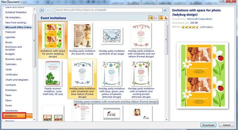 tutorial membuat label undangan word 2010 membuat undangan di ms word 2010 tutorial membuat brosur