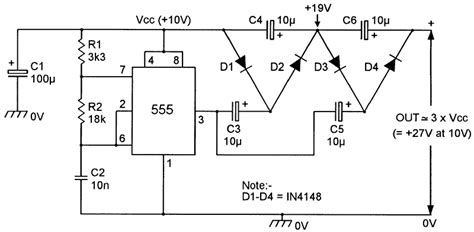 voltage doubler integrated circuit dc voltage converter circuits nuts volts magazine for the electronics hobbyist