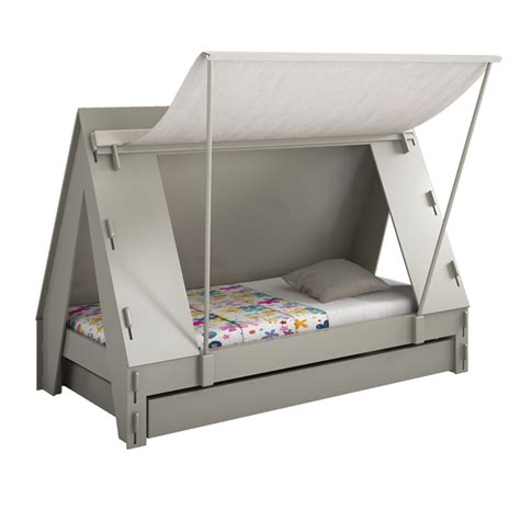 kids tent bed tent bed grey from mathy by bols diddle tinkers