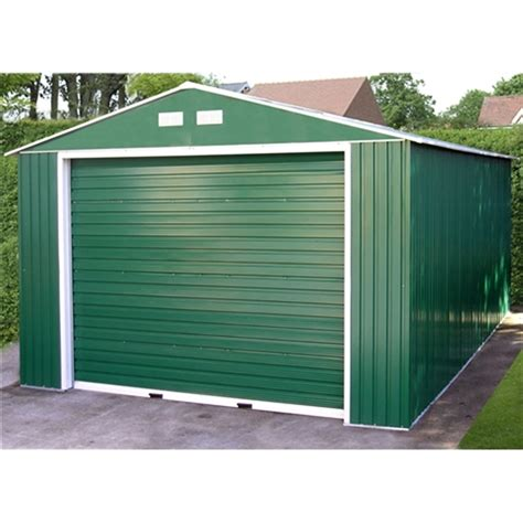 12 X 20 Garage by 12 X 20 Select Value Metal Garage 3 72m X 6 04m Shedsfirst