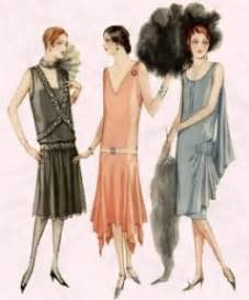 In the 1927 vogue was for sleeveless dresses such as these mccall s