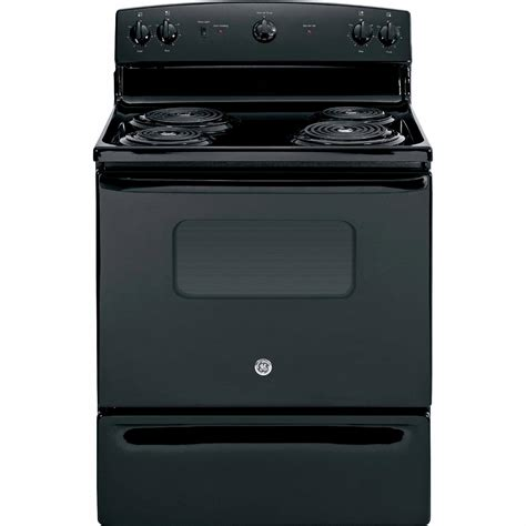 black electric range ge appliances jbs10dfbb 5 0 cu ft electric range