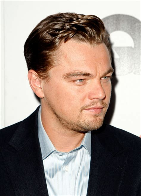 what is leonard dicaprio hairstyle called leonardo dicaprio short wavy cut leonardo dicaprio short