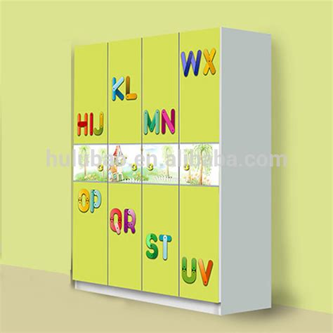 Computer Table Designs 4 doors wardrobe yellow wardrobe for kids four door