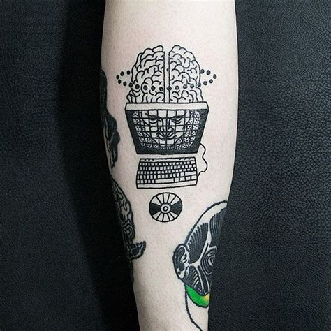 computer tattoo designs 1000 ideas about computer on