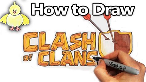 How To Draw The Clash Royale Logo