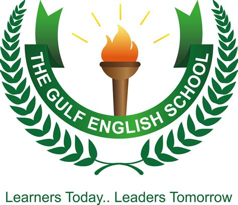 school logo design template login the gulf school