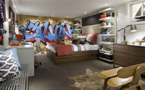 teenage basement bedroom ideas teen s new bedroom in basement is fun functional