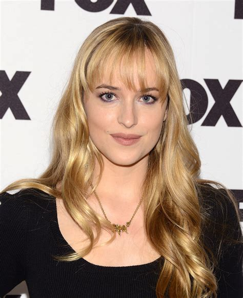 dakota johnson bangs dakota johnson long wavy cut with bangs dakota johnson
