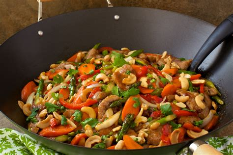 easy and better than take out pork tenderloin cashew stir fry