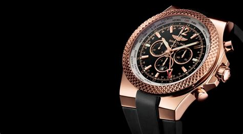 rose gold bentley breitling for bentley gmt chronograph world watch review