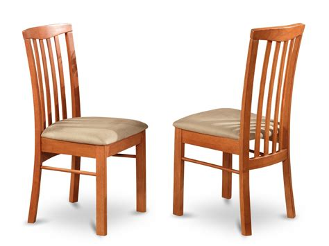 Dining Room Chairs Cherry Set Of 2 Hartland Dining Room Chairs In Light Cherry Finish