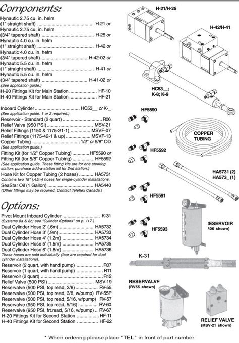seastar hydraulic steering parts diagram seastar steering diagram seastar free engine image for