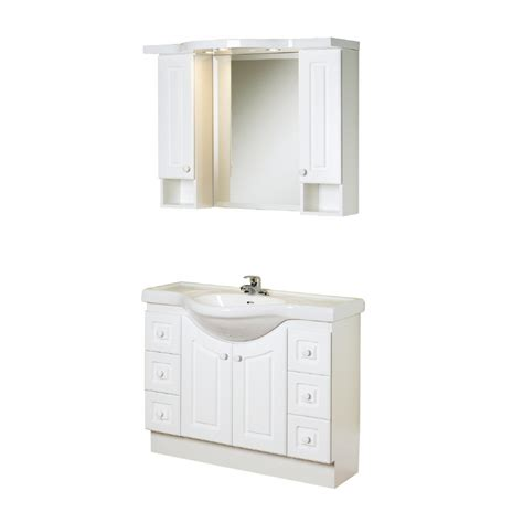Magickwoods Vanities by Shop Magick Woods 39 Quot White Eurostone Bath Vanity With Top