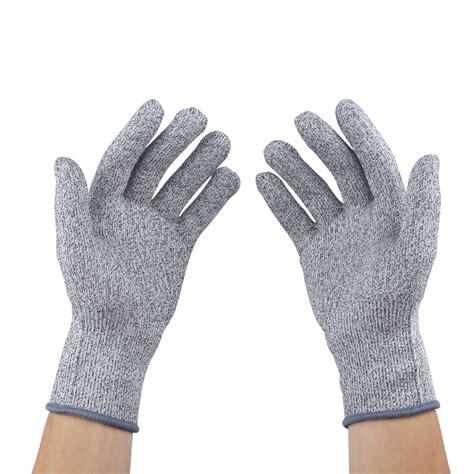 cut resistant gloves cut resistant gloves level5 cut resistance anti cutting safety glove medium size ebay