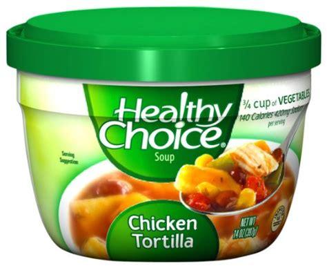Healthy Choice Garden Vegetable Soup Healthy Choice Chicken Tortilla Soup 14 Ounce