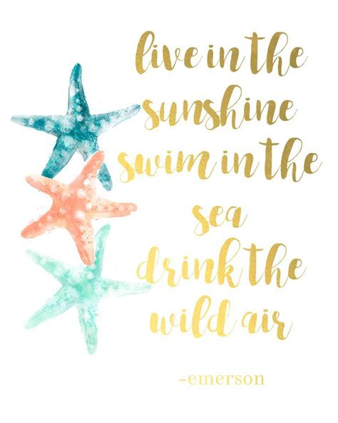 free printable wall art travel free printable travel art quot live in the sunshine swim in