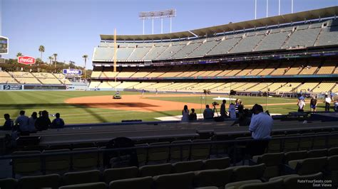 dodger stadium section 31 rs dodger stadium section 31 rateyourseats com