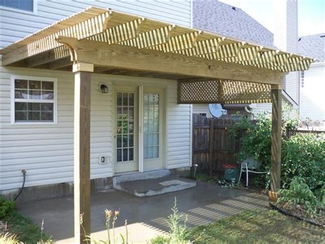 Simple Pressure Treated Pergola Pergolas Pinterest Pressure Treated Pergola