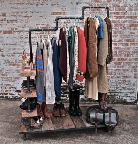 Plumbing Pipe Clothing Rack clothing rack of pipes pipes and eh pibes
