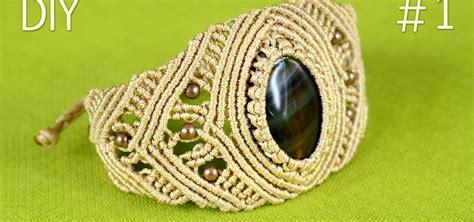 Macrame How To Make - how to make a macrame bracelet with 171 jewelry
