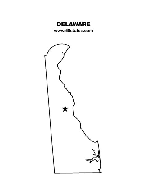 State Of Delaware Warrant Search Delaware Map