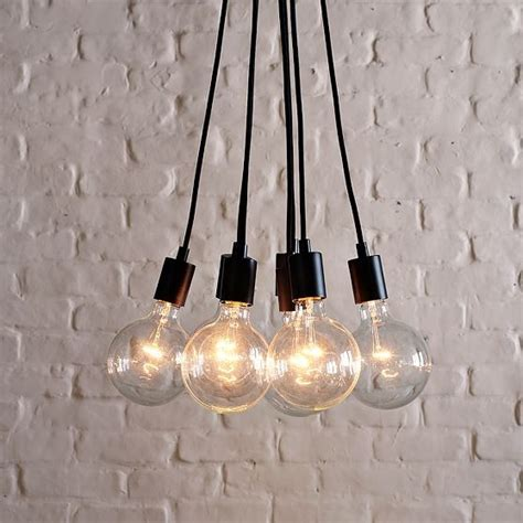 industrial bulb pendant midcentury pendant lighting