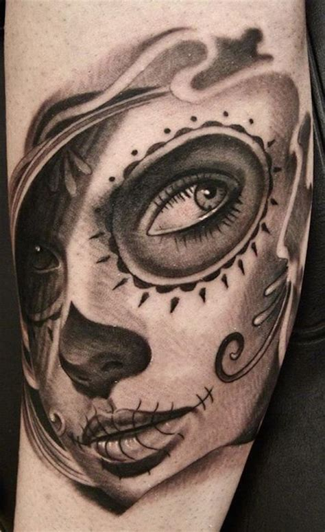 small day of the dead tattoos 166 best day of the dead tattoos