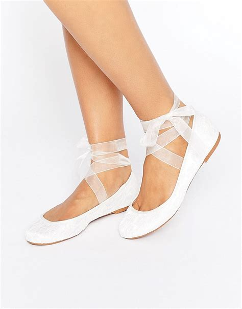 Ballet Wedding Shoes by Vintage Style Wedding Shoes Retro Inspired Shoes