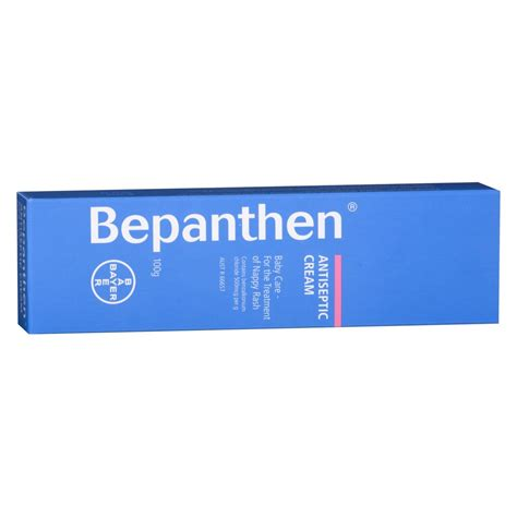 buy ointment 100 g by bepanthen online priceline buy nappy antiseptic cream 100 g by bepanthen online