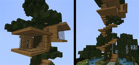 tree house designs minecraft smp treehouse by crazyronn on deviantart