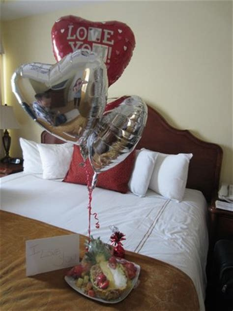 surprise fruit display gift message and balloons for my