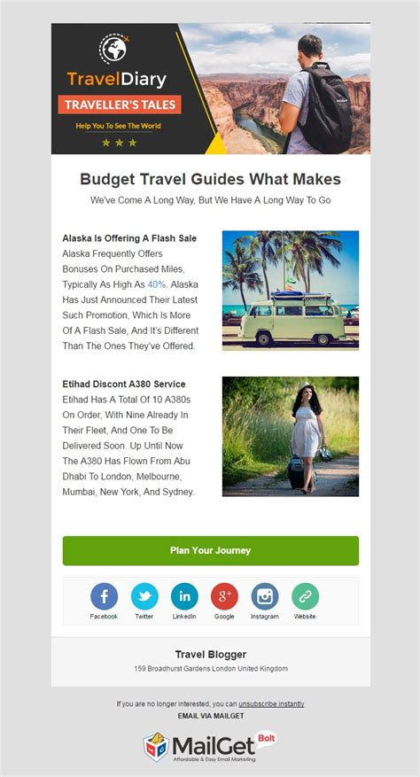 templates blogger travel 9 best blogger email templates travel film blogs