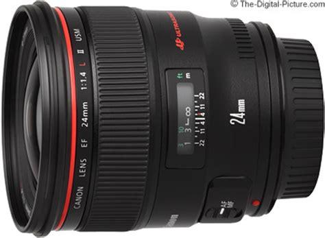canon ef 24mm f/1.4l ii usm lens review