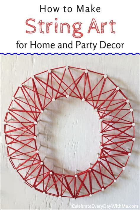 how to make string for home and decor