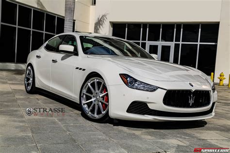 Wheels Maserati Maserati Ghibli Lowered On R10 Concave Strasse Wheels