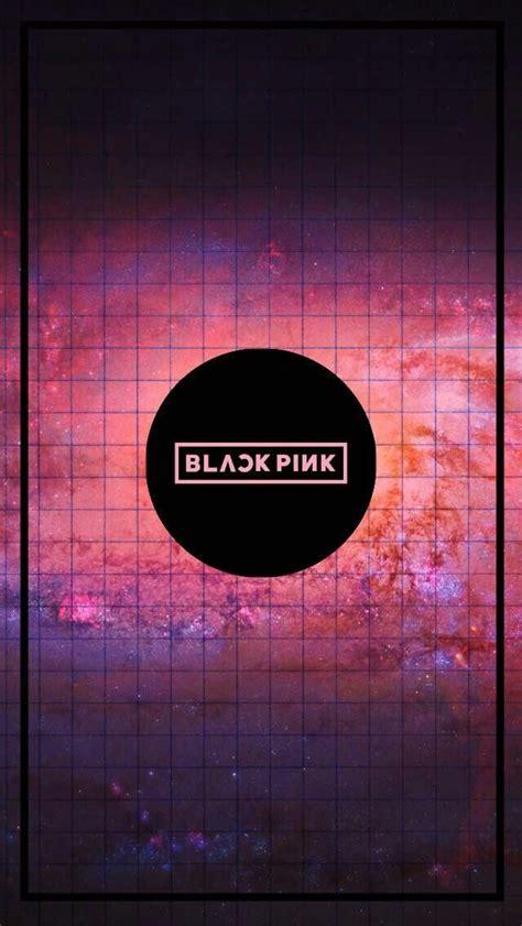 blackpink logo wallpaper wallpaper lockscreen black pink wallpapers e lockscreens