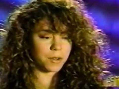 mariah carey 1992 mariah carey interview on et 1992 youtube