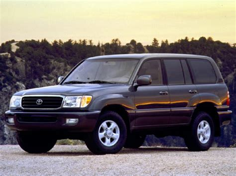 Toyota Land Cruiser Mpg 1999 Toyota Land Cruiser Specs Safety Rating Mpg