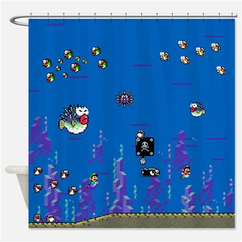 mario shower curtain super mario gifts merchandise super mario gift ideas