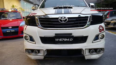 modified toyota toyota hilux modified galeri kereta