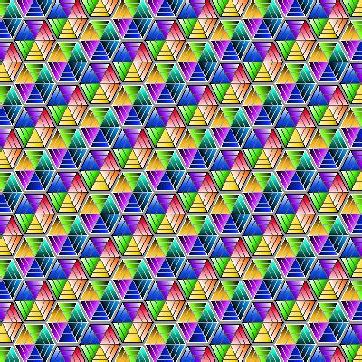 colorful hexagon pattern by humble novice on deviantart