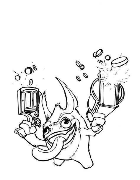 coloring pages skylanders free printable skylander giants coloring pages for kids
